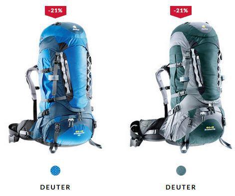 Deuter Herren und Damen Trekkingrucksäcke ab nur 164,90€
