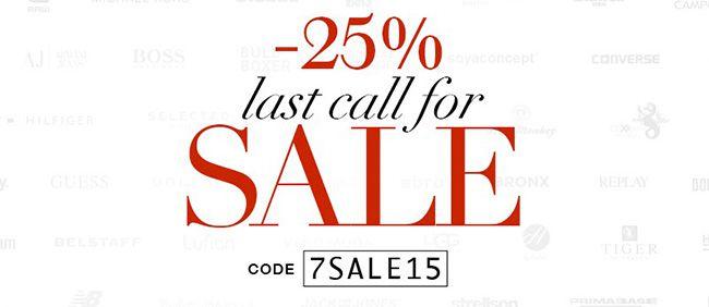 Trendfabrik Sale 25% Rabatt auf bereits reduzierte Ware in der Trendfabrik