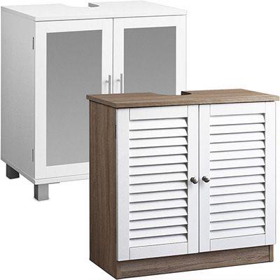 Waschbeckenunterschrank 2 verschiedene Waschbeckenunterschränke für je 34,95€