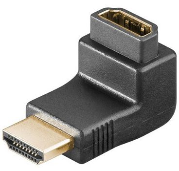6er Pack Wentronic 68782 HDMI Winkeladapter für 6,12€