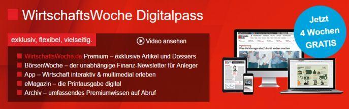 WiWo Digital 4 Wochen WirtschaftsWoche als eMagazin kostenlos   Kündigung notwendig