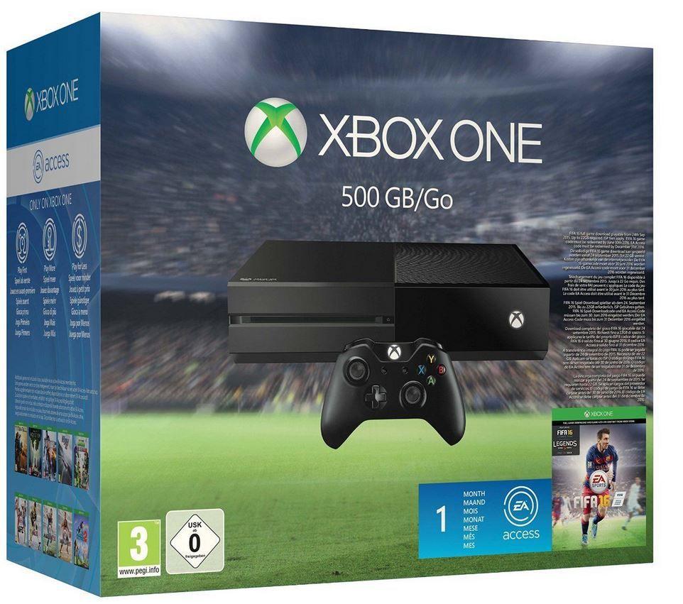 Xbox One + FIFA 16 für 225€