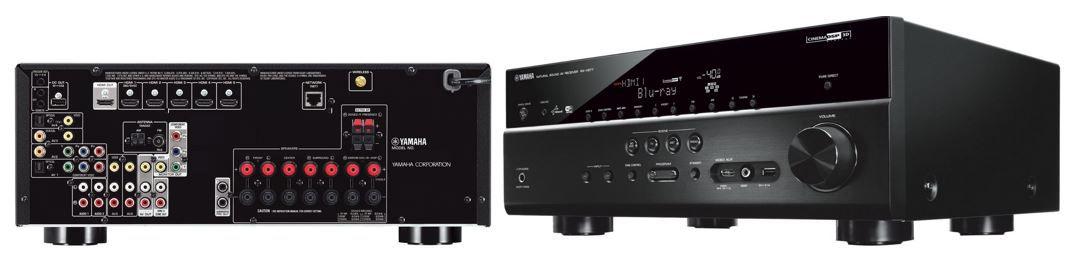 Yamaha RX V677 Yamaha RX V677 WiFi Netzwerk AV Receiver statt 504€ für 378,83€