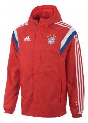 adidas FC Bayern München Regenjacke F49518 für 32,99€