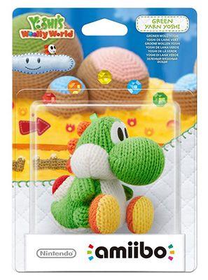 Grüner amiibo Woll Yoshi für 9€ (statt 14€)
