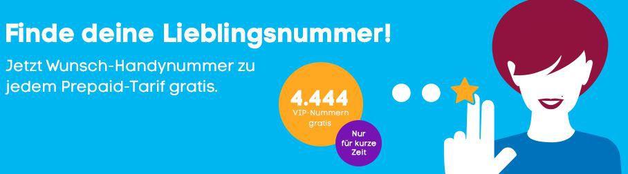 Blau.de mit VIP Handynummern voll portierbar   nur 10€ inkl. max. 20€ Guthaben (Prepaid)