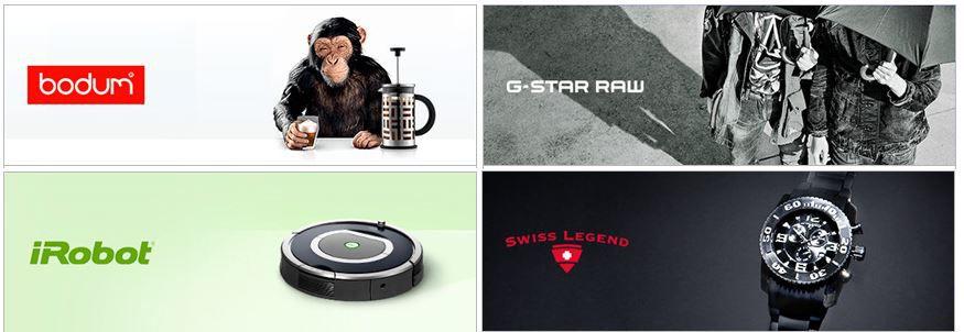 bodum, G STAR RAW, iRobot und Swiss Legend Sale und mehr Aktionen bei Vente Privee