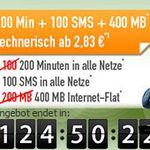 Tipp! klarmobil Vodafone Allnet-Starter für 2,83€ monatlich – 400MB, 200 Minuten, 100 SMS