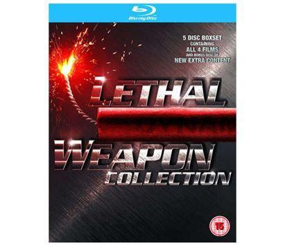 Lethal Weapon 1 4 Blu ray Box für 8,15€ (statt 17€)