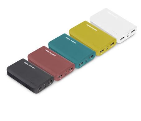 RealPower PB 6k Color Edition Powerbank für 9€