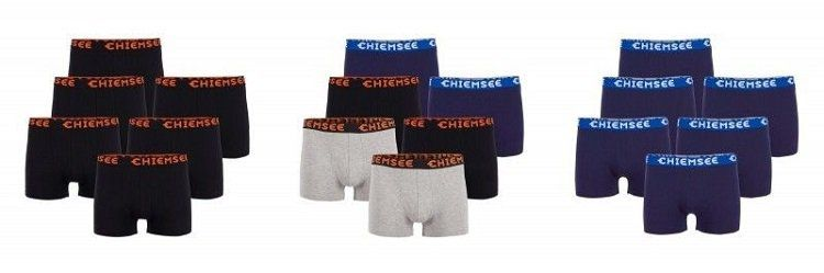 Chiemsee Herren Boxershorts im 6er Pack für nur 26,95€