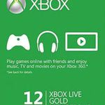 12 Monate Xbox Live Gold Mitgliedschaft für 39€