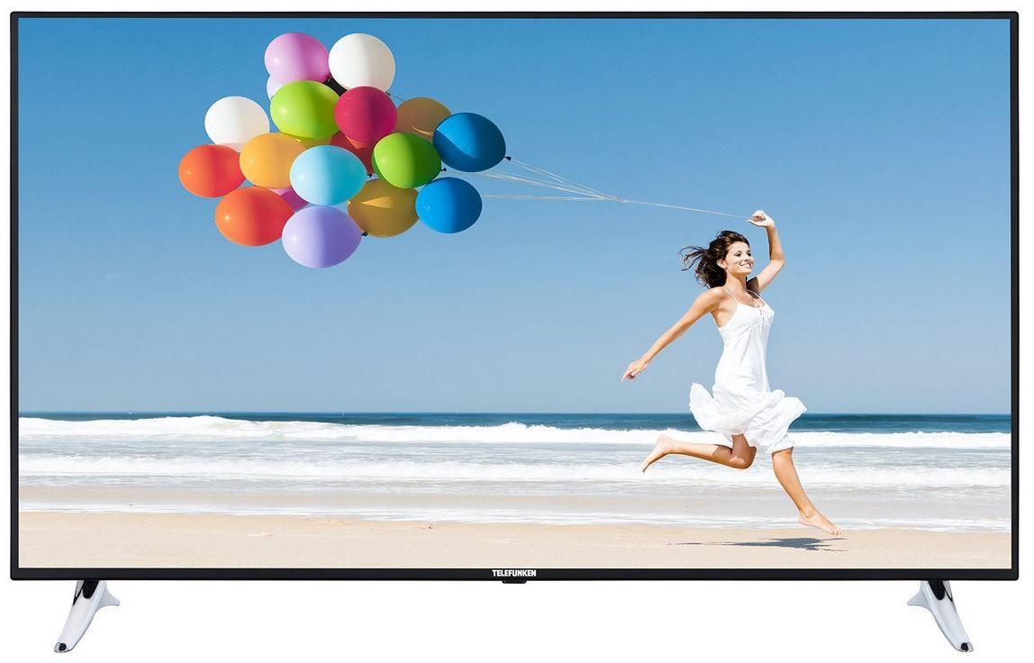 Telefunken L55F249I3CW   55 Zoll Smart TV mit triple Tuner für nur 579,99€
