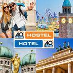 A&O – Hotelgutschein 1 Personen + 2 Übernachtungen in A&O Hostels für 29€