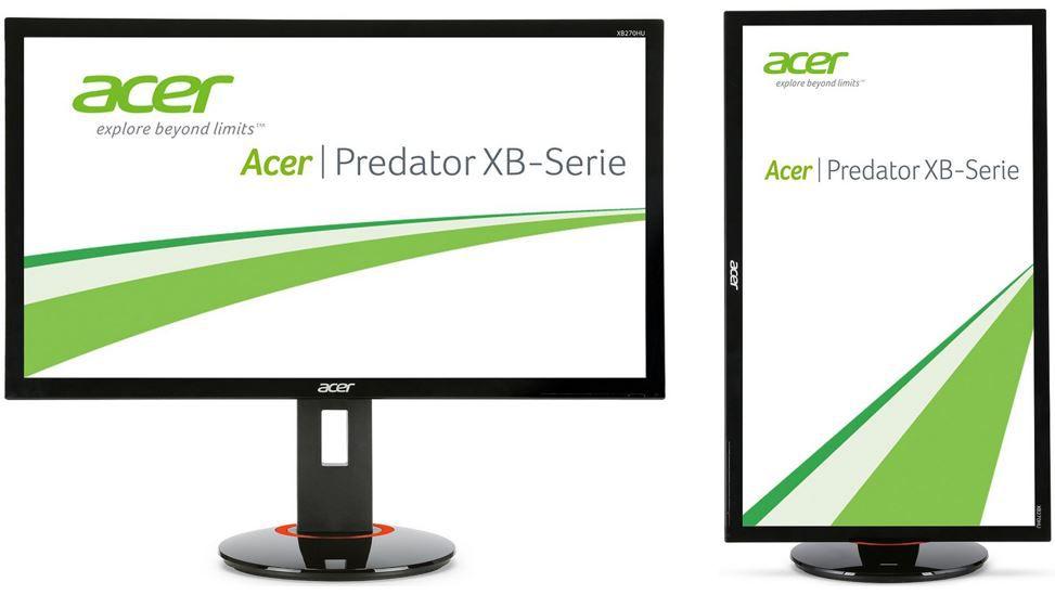 Acer Predator XB Acer Predator XB270HUbprz   27 Zoll Hightec Gamer Monitor (144Hz, NVIDIA G Sync) für 649€