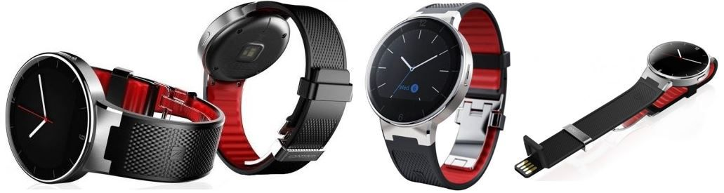 Alcatel One SM02   Touch Android/iOS Smartwatch mit Bluetooth für 89,90€