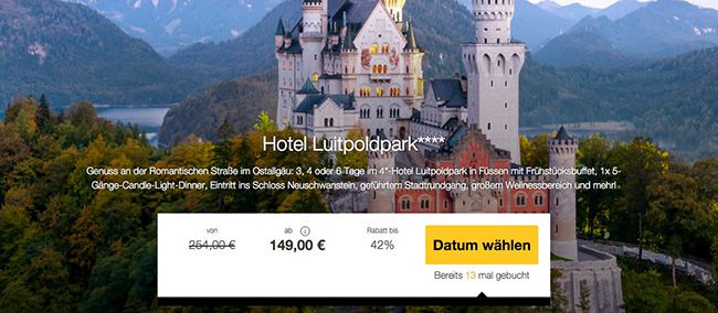 Allgäu Luitpoldpark Hotel 3 6 Tage Allgäu im 4 Sterne Hotel mit Frühstück, 5 Gänge Menü & Extras ab 129€ p.P.