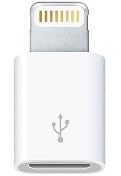 Apple MD820ZMA1 Apple Lightning auf Micro USB Adapter für 5,45€