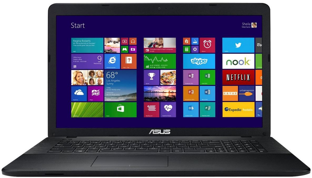 Asus F751MA TY236H   17,3 Zoll Notebook, 8GB RAM + 1000GB HDD inkl. Win 8.1 für 379€