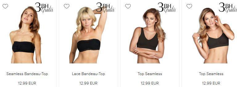 Hunkemöller Memberdays mit Gratis Artikel beim Kauf von 2 BHs, Slips, ...