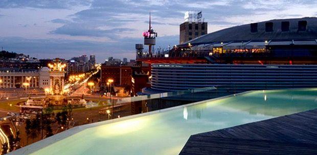 Barcelona im TOP 3 Sterne Hotel mit Dachterrasse ab 67€ pro Nacht
