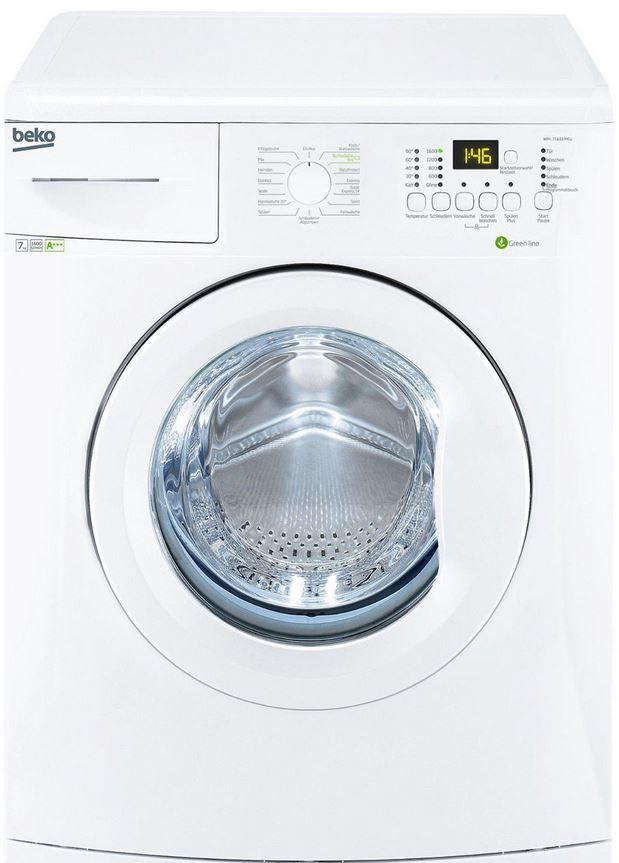 BEKO WML 71633 MEU   Waschmaschine mit 7 KG und 1.600 U/min für nur 299€