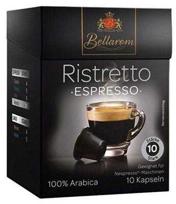 50 Bellarom Ristretto Espressokapseln für 8,70€