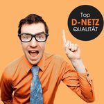 D-Netz mit 200 Minuten, 100 SMS und 400 MB Daten für 4,95€/Monat – monatlich kündbar!