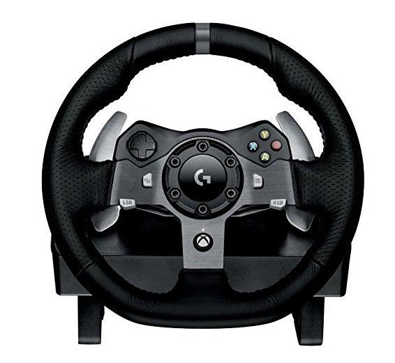 Logitech G920 Driving Force Xbox One & PC Rennlenkrad für 179€ (statt 226€)