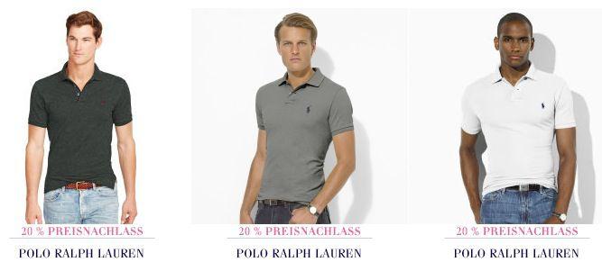 Ralph Lauren Spendenaktion mit 20% Rabatt auf (fast) alles