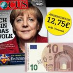 5 Ausgaben Focus für 2,75€ dank 10€ Bargeldprämie