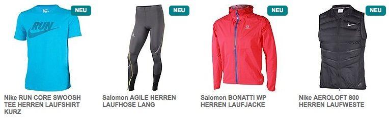 20% Rabatt auf Laufbekleidung bei Runners Point + Sale bis zu  50%