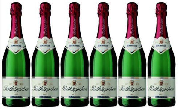 Preisfehler? 6 Flaschen Rotkäppchen Sekt halbtrocken (6x 0.75 l) für 13,16€ inkl. VSK