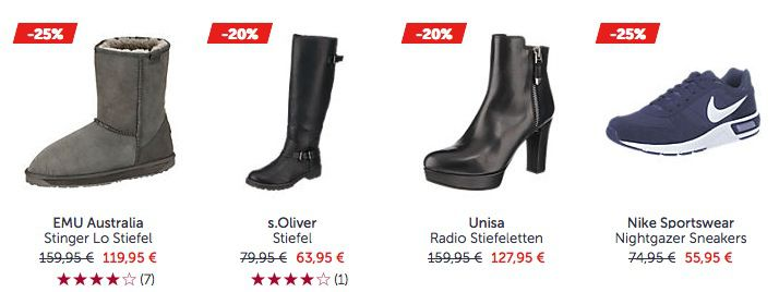 MIRAPODO Sale + 11€ Gutschein ab 49€ Einkaufswert