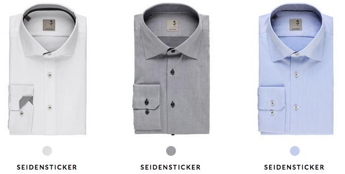 Seidensticker Hemden für je 39€ (statt 60€) + 5€ Gutschein ab 50€ MBW