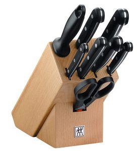 Zwilling 31665 Messerblock Twin Gourmet 9 teilig für 84,94€ (statt 149€)