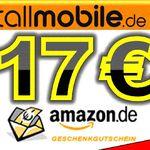 callmobile SIM-Karte + 17€ Amazon Gutschein + 10€ Startguthaben für nur 2,95€