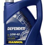 5 Liter MANNOL Defender Motoröl 10W-40 API SL/CF für 10,99€