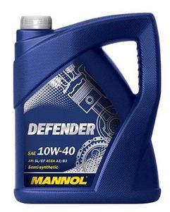 5 Liter MANNOL Defender Motoröl 10W 40 API SL/CF für 10,99€