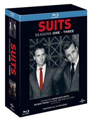 Suits Staffel 1 3 auf Blu ray mit deutscher Tonspur für 15,11€ (statt 25€)