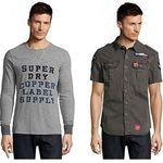 Superdry Damen & Herren Sale bei vente-privee – z.B. Shirts ab 15€