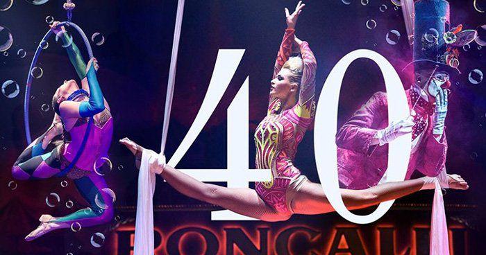 40 Jahre Jubiläumstournee Circus Roncalli Tickets ab 18,56€ (statt 36€) bei vente privee