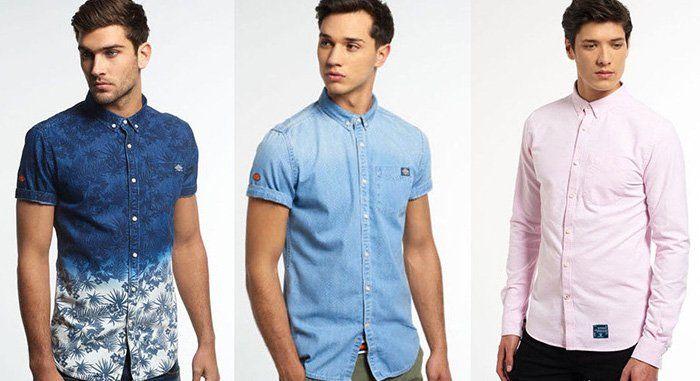Damen und Herren Superdry Hemden für je 24,95€