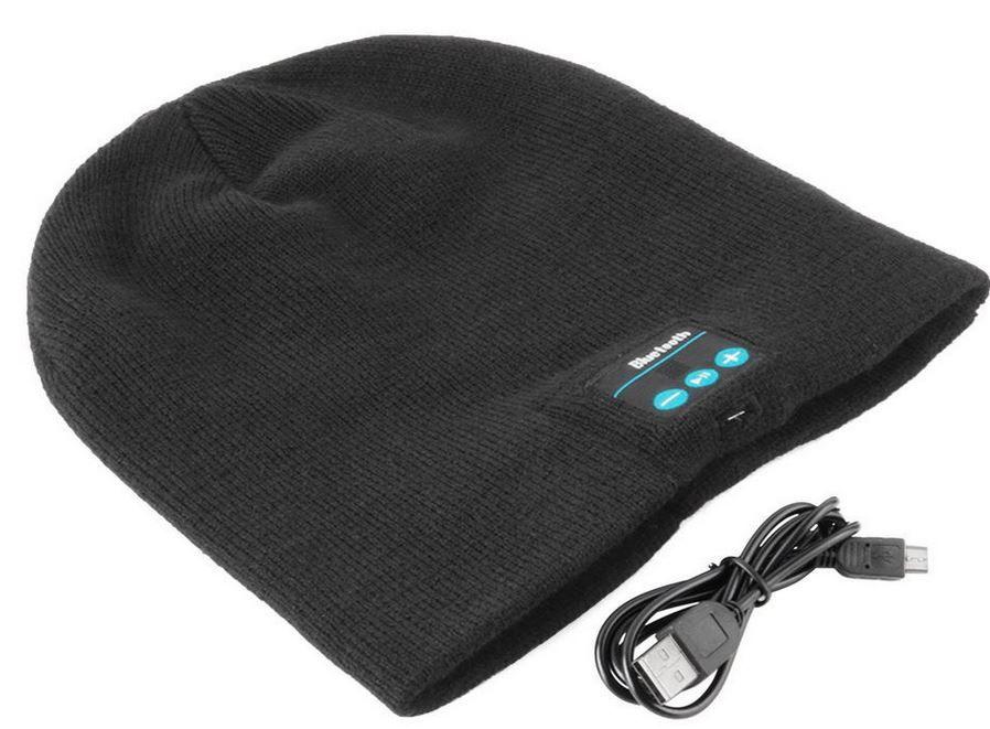 Beanie mit eingebauten Bluetooth Headset für 6,99€