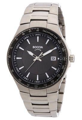 Boccia Titan 3549 01 Herren Armbanduhr für 68,52€ (statt 93€)