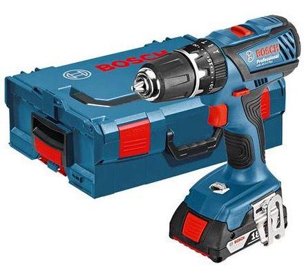 Bosch GSB 18 2 LI Plus Professional Bosch GSB 18 2 LI Plus Professional + 2 x 2,0 Ah Akkus für 176,90€ (statt 224€)