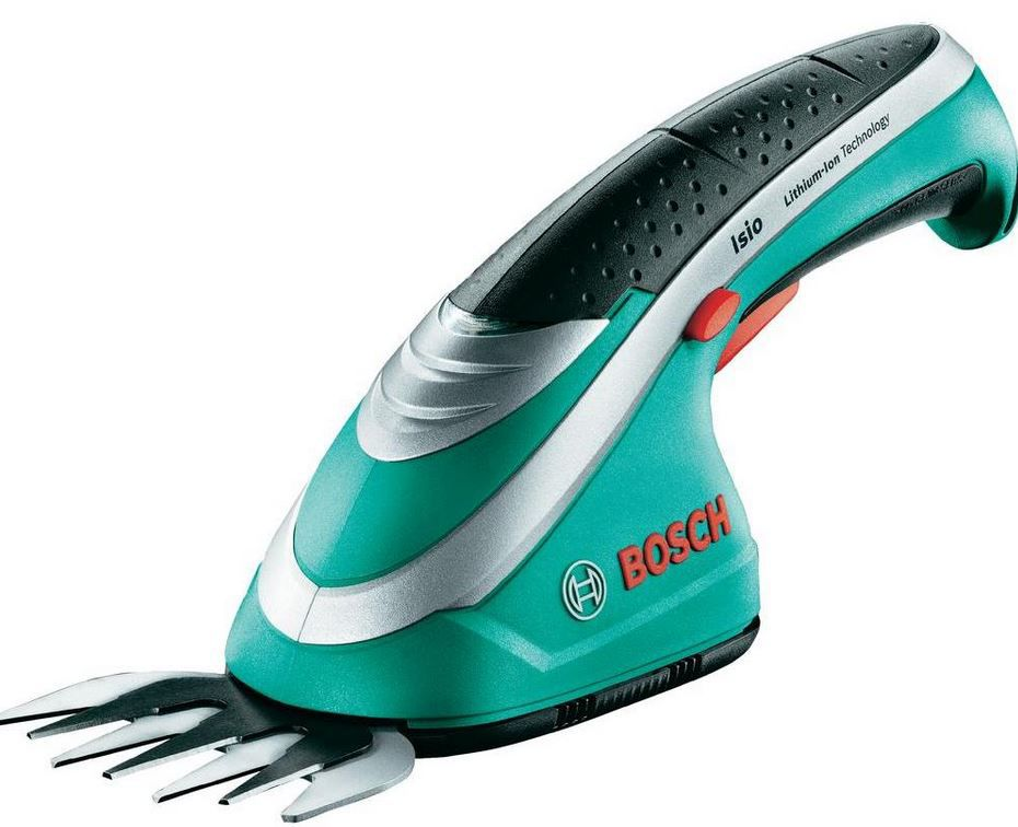 Bosch ISIO   Grasschere mit 3.6 V Li Ion Akku statt 56€ ab 27,45€