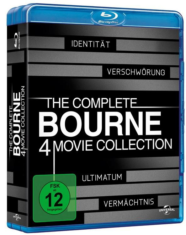 The Complete Bourne Collection auf Blu ray ab nur 14,97€