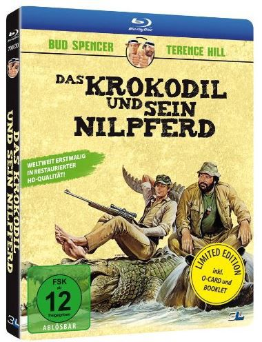 Das Krokodil und sein Nilpferd   Spencer & Hill [Limited Edition] [Blu ray] ab 9,97€