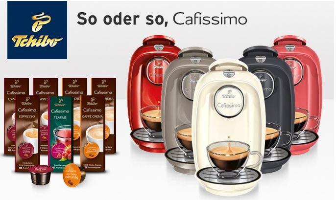 Tchibo Cafissimo Picco + Focus Abo mit 9 Digital Ausgaben oder mit 70 Kapseln und 40 Monaten Garantie für je 19,99€